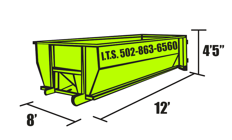 12-Cubic Yard Dumpster Georgetown KY